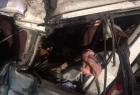 مصرع 20 مصريا وإصابة آخرين إثر حادث سير مروع جنوب القاهرة - فيديو