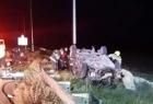 الخليل: وفاة شاب وعدة إصابات جرّاء انقلاب مركبة شرق يطا
