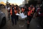 الصحة بغزة: 103 شهيد من بينهم 27 طفل و 11سيدة و 580 اصابة بجراح مختلفة