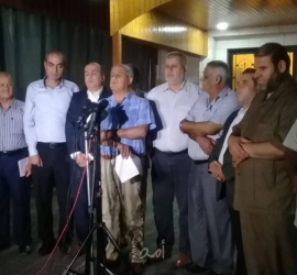 لجنة المتابعة تطالب بفك الارتباط بدولة الاحتلال وتشكيل قيادة موحدة!