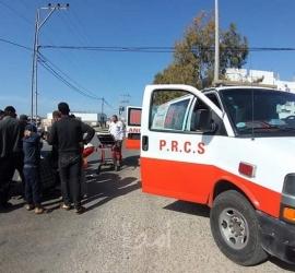 إصابة مواطن بحادث سير في قطاع غزة