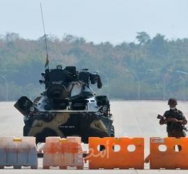 حاكم ميانمار العسكري يعد بتنظيم انتخابات