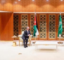 ولي العهد السعودي يستقبل العاهل الأردني لبحث العلاقات الثنائية وقضايا عربية وإقليمية