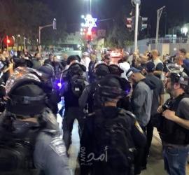 محدث - القدس: 78 إصابة خلال مواجهات في منطقة باب العامود - فيديو