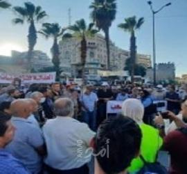 رام الله: مظاهرات للمطالبة بمحاسبة قتلة نزار بنات - فيديو