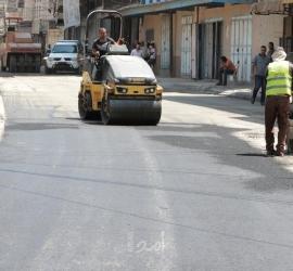 """بلدية غزة تفتتح امتداد شارع خليل الوزير"""" اللبابيدي"""" من جهة الشرق"""