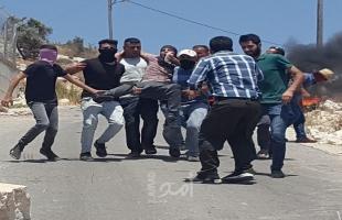 إصابات بالرصاص المطاطي جراء اعتداء جيش الاحتلال مسيرة كفر قدوم الأسبوعية