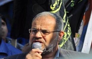 """الجهاد لـ""""أمد"""": مصر وجهت لنا دعوة مٌسبقًالزيارة القاهرة دون تحديد الموعد"""