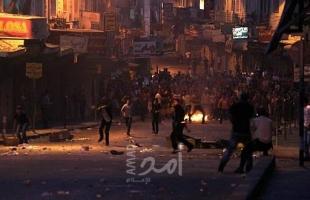 إصابة شاب بالرصاص الحي خلال قمع جيش الاحتلال مسيرة في رام الله
