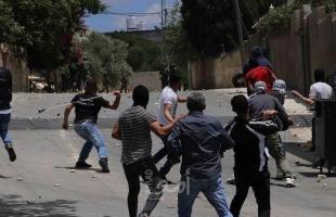 إصابة 5 شبان برصاص جيش الاحتلال خلال الاعتداء على مسيرة كفر قدوم الأسبوعية