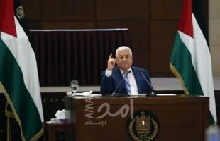 تلفزيون فلسطين يعلن موعد كلمة عباس باجتماع الأمناء العامين