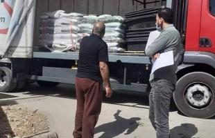 تنمية نابلس تبدأ بتوزيع الطحينالخاص بمرضى حساسية القمح  وتنمية القدس تقدم مساعدات للملجأ الخير