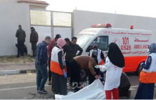 وفاة مواطن بحادث سير وسط قطاع غزة