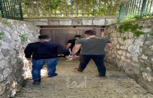 قوات الاحتلال تقتحم نادي بالقدس وتمنع إقامة نشاطات رياضية