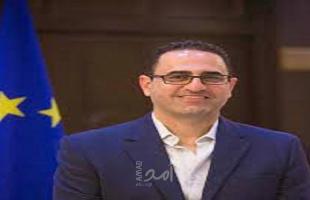 """عثمان لـ""""أمد"""": فكرة تطوير معبركرم أبو سالم ضمن نقاشات الاتحاد الأوروبي"""