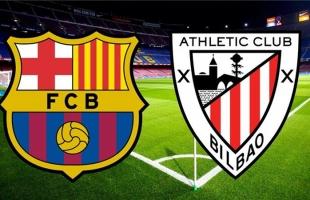 برشلونة يفوز بكأس ملك إسبانيا بعد سحق أتلتيك بيلباو - فيديو