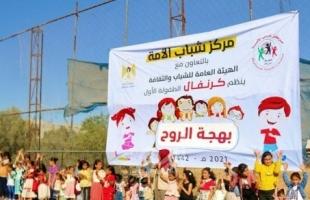 مركز شباب الأمة ينفذ كرنفال الطفولة الترفيهي (2) ضمن حملته بهجة الروح