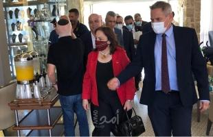 فضيحة سياسية..الوزيرة د. الكيلة تلتقي بوزير الصحة الإسرائيلي في القدس