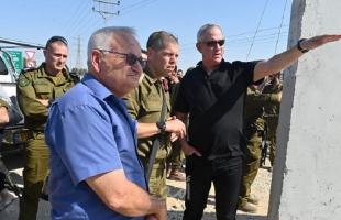 غانتس: نعمل من أجل هدنة طويلة الأمد تحقق الرفاهية لسكان قطاع غزة