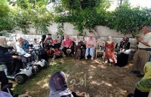لجنة المرأة بالشخصيات المستقلة تنظم لقاءً هامًا مع اتحاد المعاقين بغزة