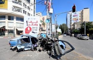 شرطة حماس تشدد الإجراءات لضبط الحالة المرورية للحد من الحوادث في غزة