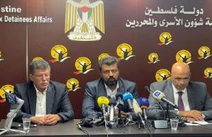 خلال مؤتمر صحفي: الأوضاع في سجون الاحتلال مأساوية وقابلة للانفجار