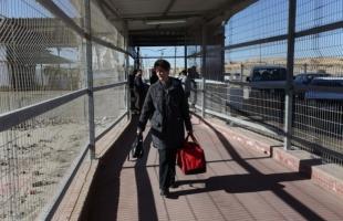 """داخلية حماس تنشر إحصائية حركة السفر عبر معبر بيت حانون """"إيرز"""" خلال الأسبوع الماضي"""