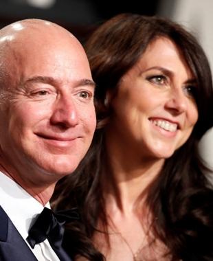 طليقة أغنى رجل في العالم تتزوج من جديد... وجيف بيزوس يعلق