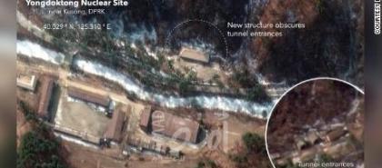 """""""سي أن أن"""" تنشر صور أقمار صناعية تكشف خطوات كوريا الشمالية لإخفاء موقع أسلحة نووية"""
