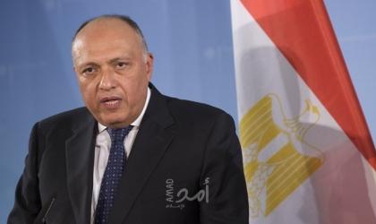 """وزير خارجية مصر""""شكري"""" يتوجه إلى الدوحة حاملاً رسالة من الرئيس السيسي"""