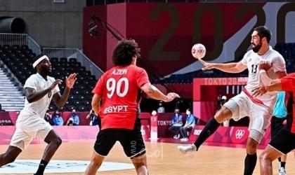 """طوكيو 2020: """"يد"""" مصر تخسر أمام فرنسا في نصف النهائي"""