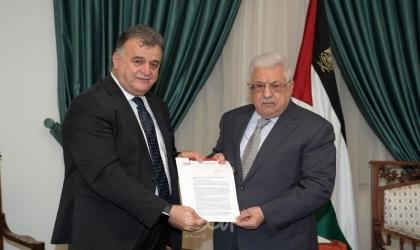 الرئيس عباس يستقبل الأمين العام لاتحاد نقابات عمال فلسطين
