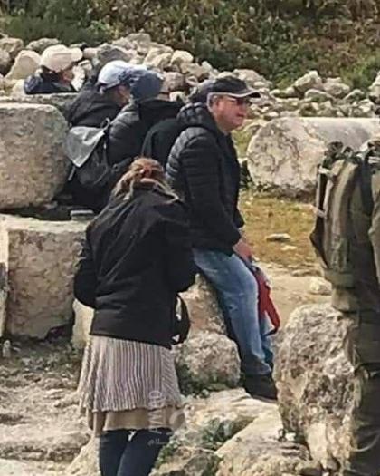 نابلس: مستوطنون يقتحمون المنطقة الأثرية في سبسطية