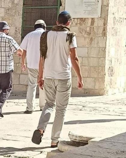 """القدس: (257) مستوطناً يقتحمون """"المسجد الأقصى"""""""